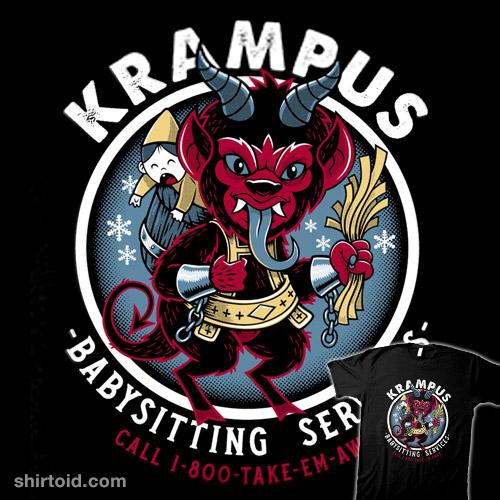 Krampus Babysitting