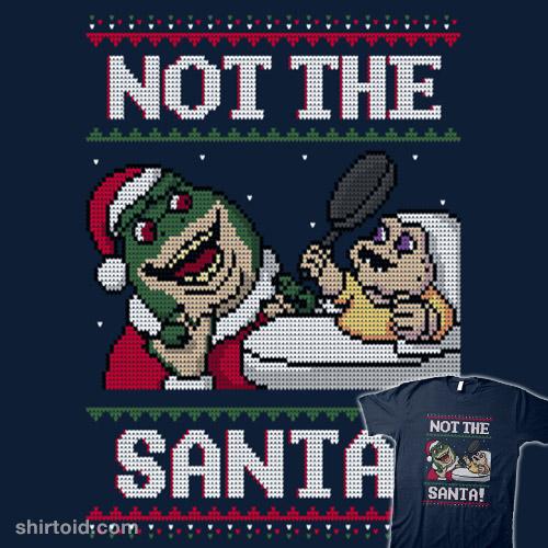 Not the Santa!