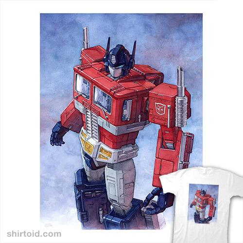 Optimus Watercolor
