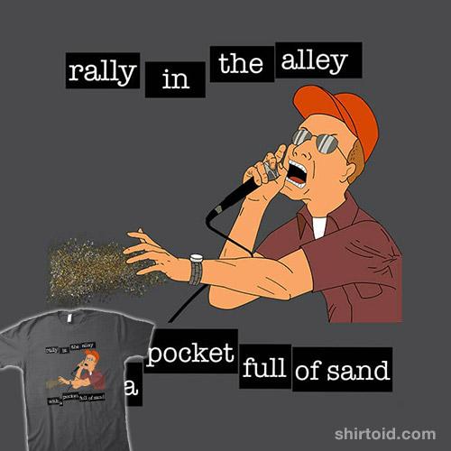 Pocket Full of Sand