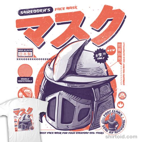 Shredder's Mask
