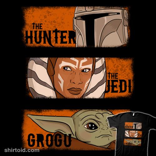 The Hunter, the Jedi, and Grogu