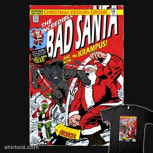 The Incredible Bad Santa