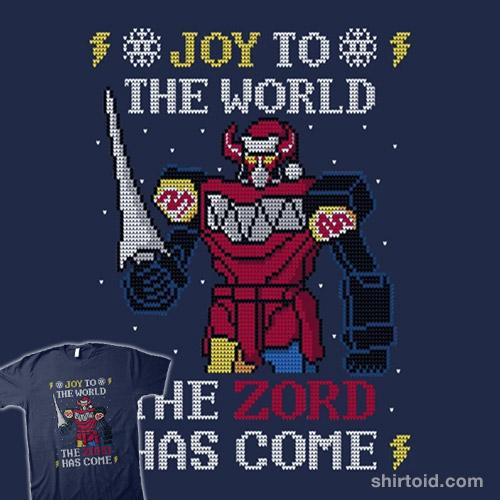 The Zord Has Come!