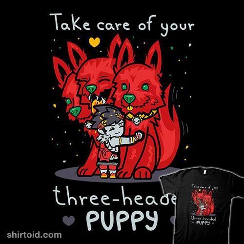 Three-Headed Puppy