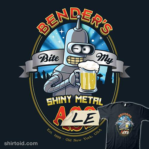 Bite My Shiny Metal Ale
