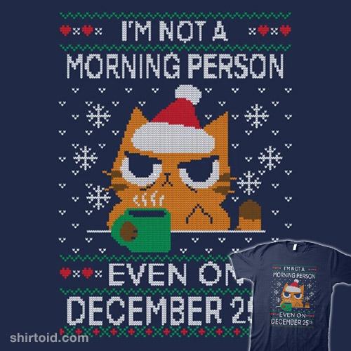 Grumpy Xmas Morning