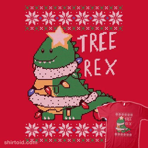 Tree Rex Sweater