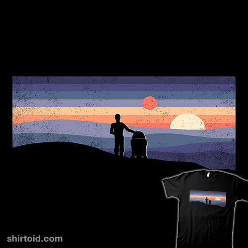 Droids at Sunset