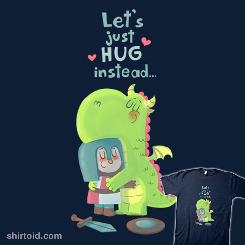 Let's just hug