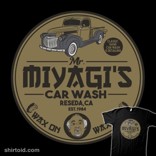 Miyagi's Car Wash