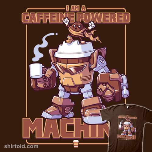 Caffeine Powered Machine