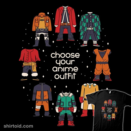 Choose Your Anime Outfit