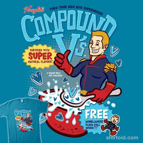 Compound V Cereal