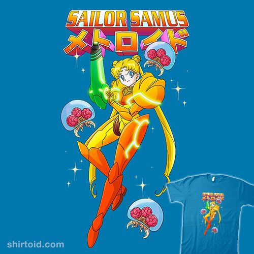 Sailor Samus Power Suit