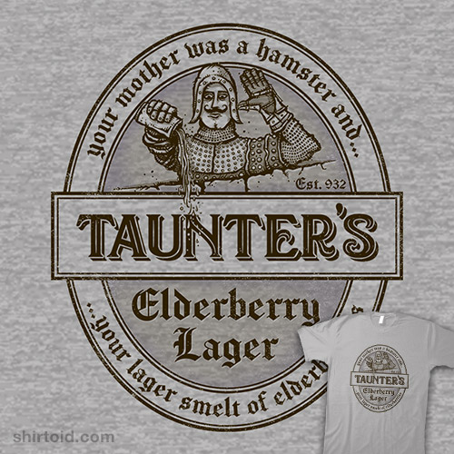 Your Lager Smelt of Elderberries