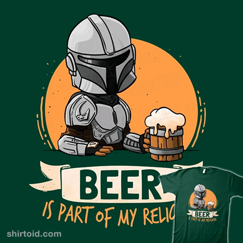Beer is Part of My Religion