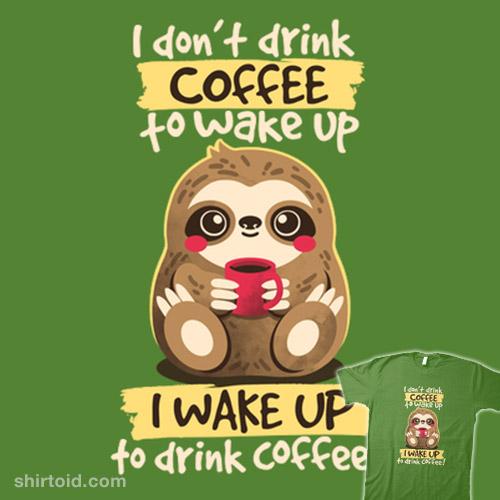 Coffee Sloth