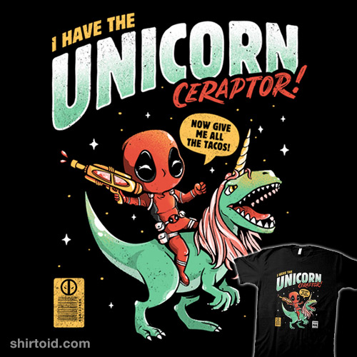 I Have The Unicornceraptor