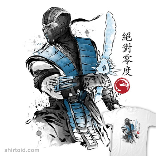 Ice Warrior Sumi-e