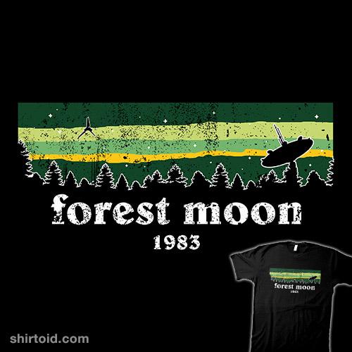 Vintage Forest Moon