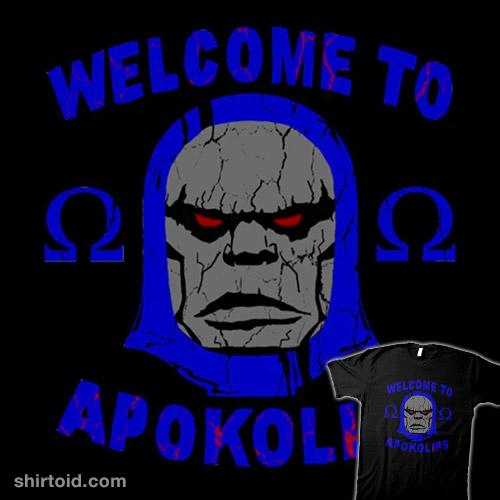 Welcome to Apokolips