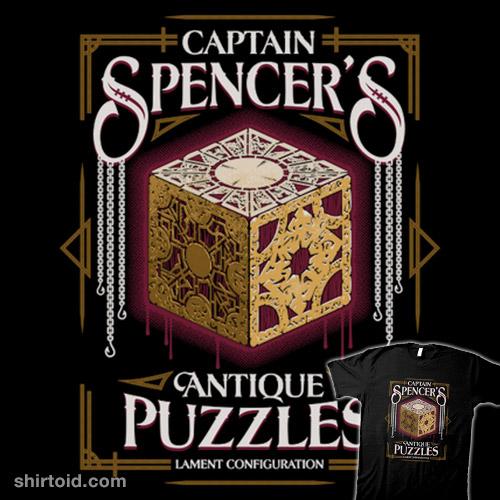 Captain Spencer's Antique Puzzles