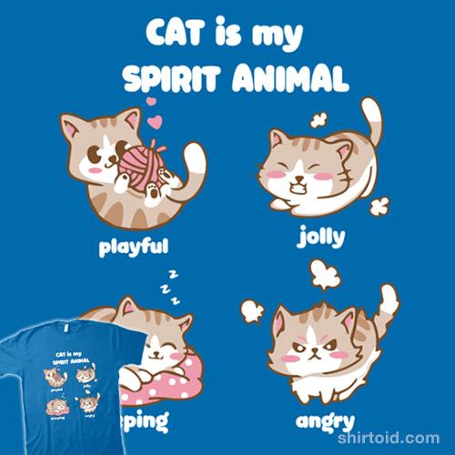 Cat is my spirit animal