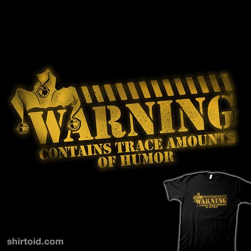 Comedy Warning