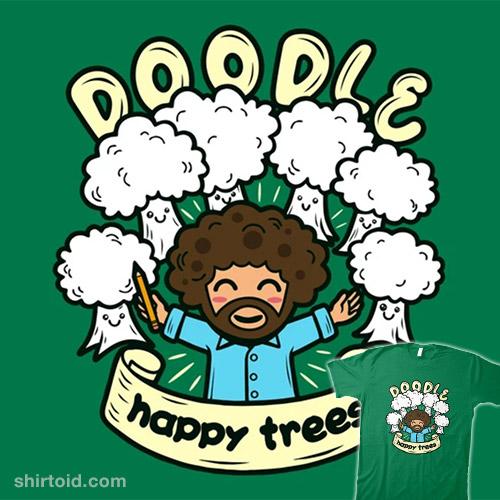 Doodle Happy Trees