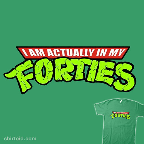 Actually In My Forties