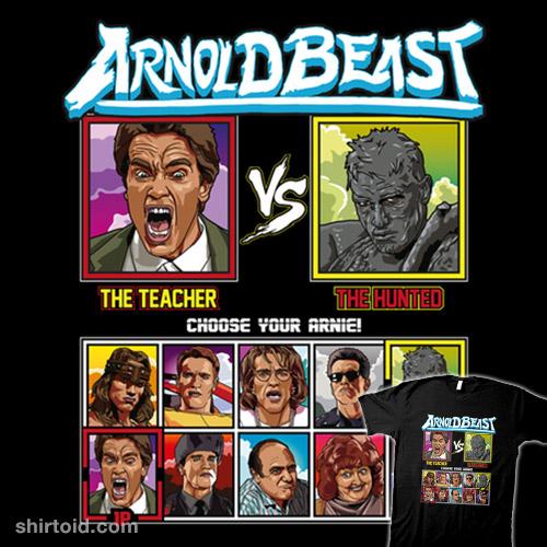 Arnold Beast Fighter – Kindergarten Cop vs Predator