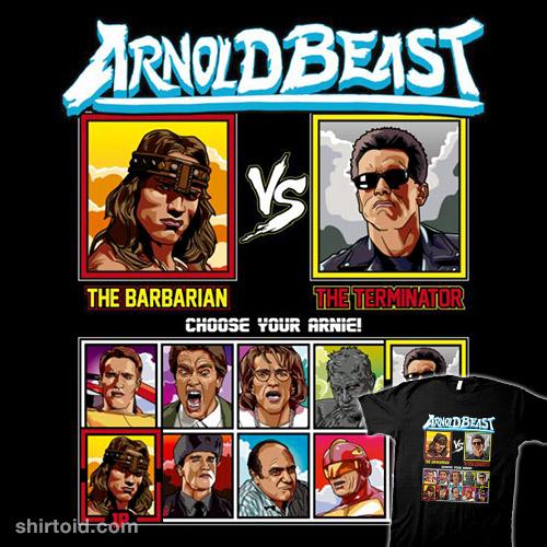 Arnold Beast Fighter – Conan vs Terminator