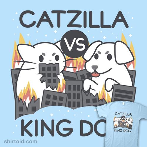 Catzilla vs. King Dog