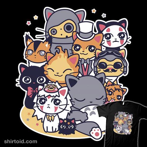Miyazaki Cats