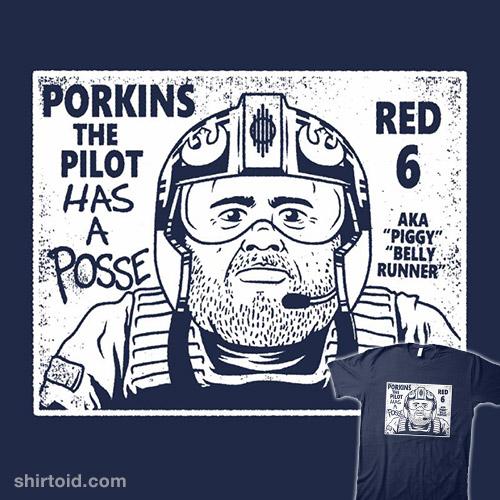 Porkins Has a Posse