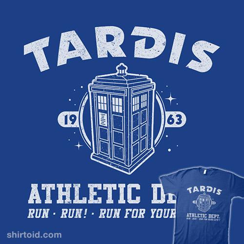 Sci-Fitness – Tardis