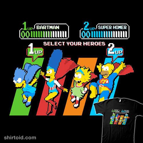 Select a Simpson