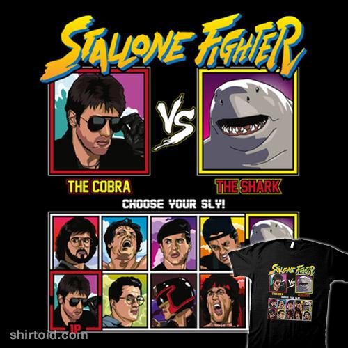 Stallone Fighter – Cobra vs Suicide Squad 2