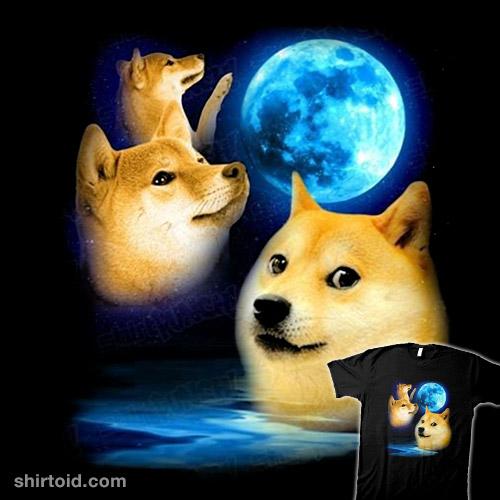 Three Doge Moon