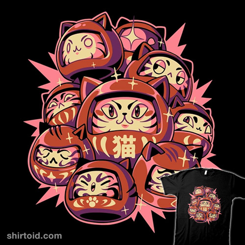 Daruma Cats