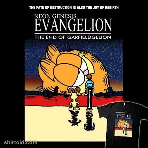 End of Neon Genesis Garfieldgelion