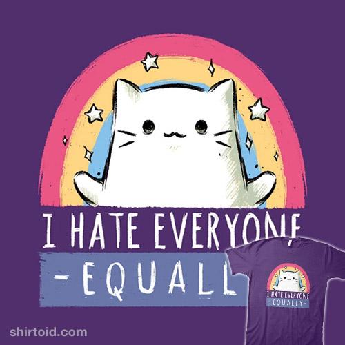 Equally Hate