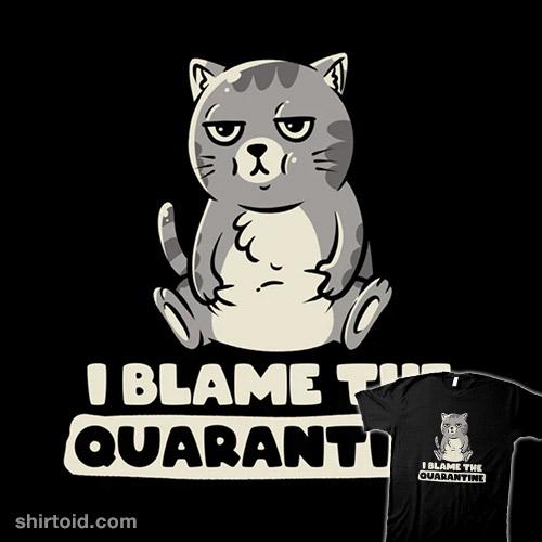 I Blame the Quarantine