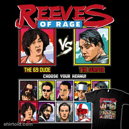 Keanu Reeves of Rage – Bill & Ted vs Point Break