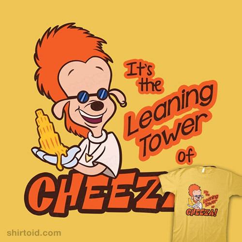 Leaning Tower of Cheeza