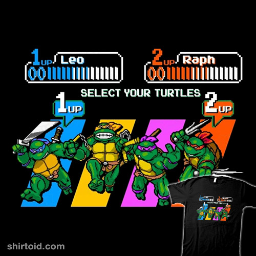 Select Your Turtle