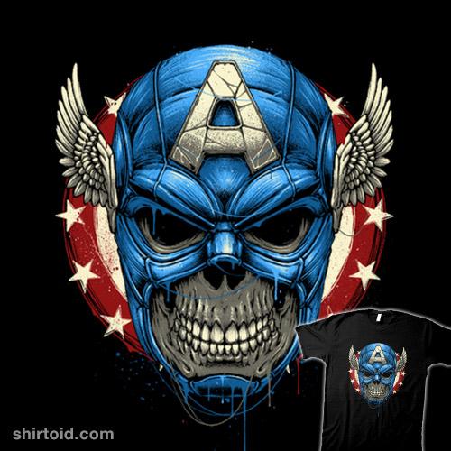 Star Spangled Skull
