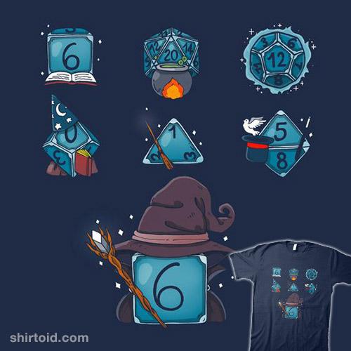 Wizard Set Dice