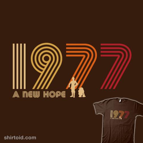 1977 A New Hope